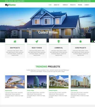 22 Real Estate Website Templates Free Download 2020 Webthemez