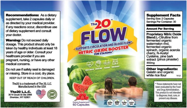 The 20 Flow Review - Stamina booster