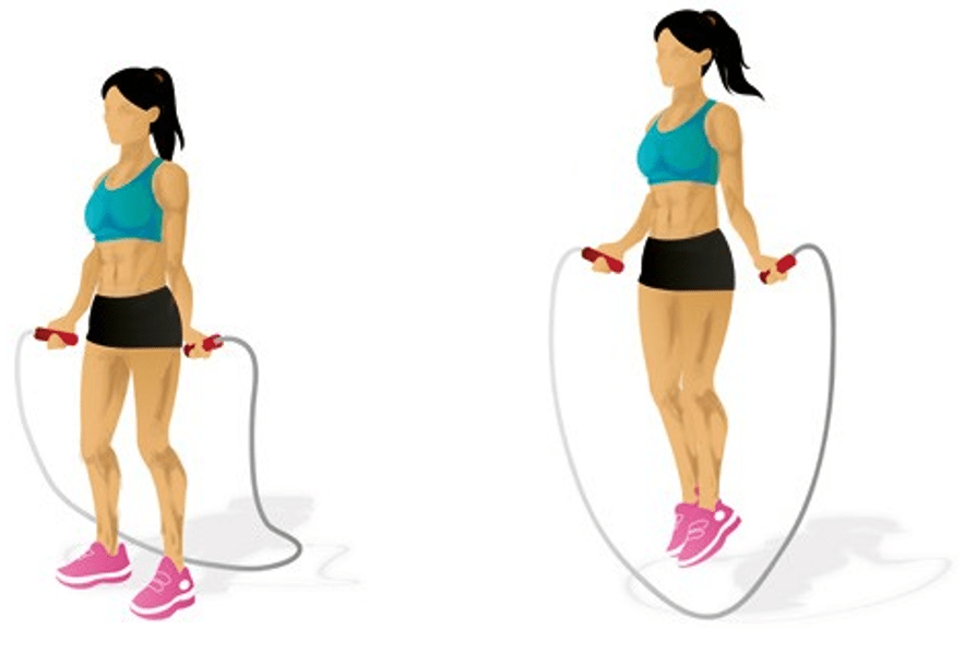 Rope Skipping Main muscle: quadriceps