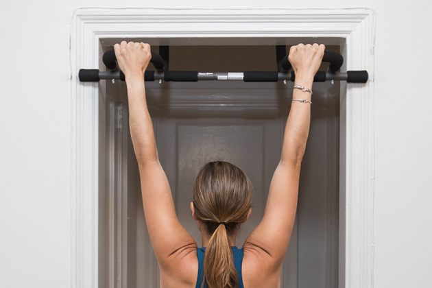 At-Home Workout Poor Man's Prowler Exercise
