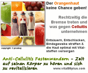 Anti-Cellulitis Fastenwandern