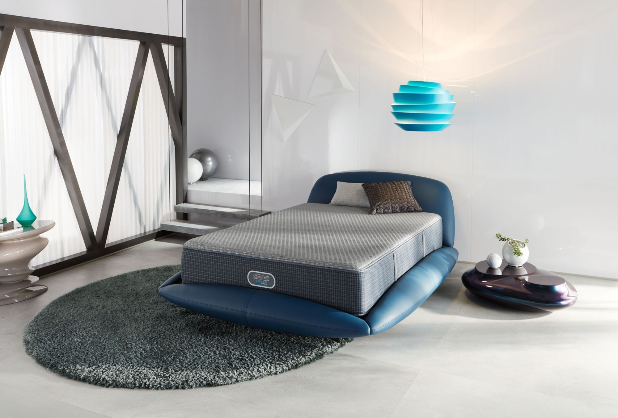 Special Simmons Beautyrest Silver Hybrid Lighthouse Point