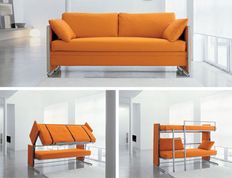 Convertible Sofa Bunk Bed