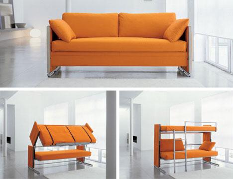 Convertible Sofa Bunk Bed