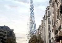Triangular Sustainable Skyscraper Design