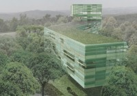 Beautiful Natural Green Research Complex