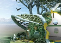 Organic Self Growing House Design