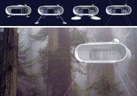 Nomadic Futuristic Mobile Yurt Design