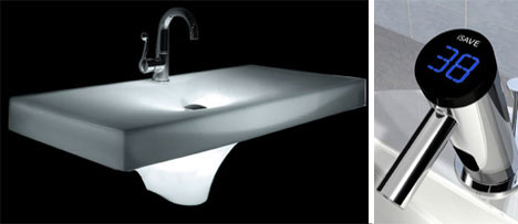 Meltdown Sink and iSave Faucet