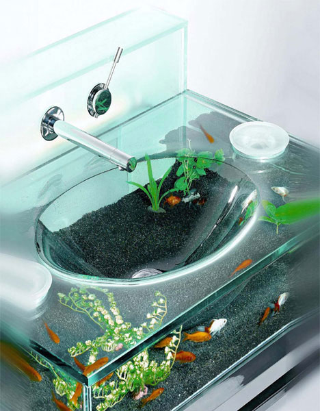 Goldfish Bowl Sink