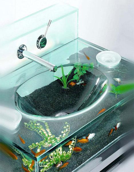 Goldfish Bowl Sink