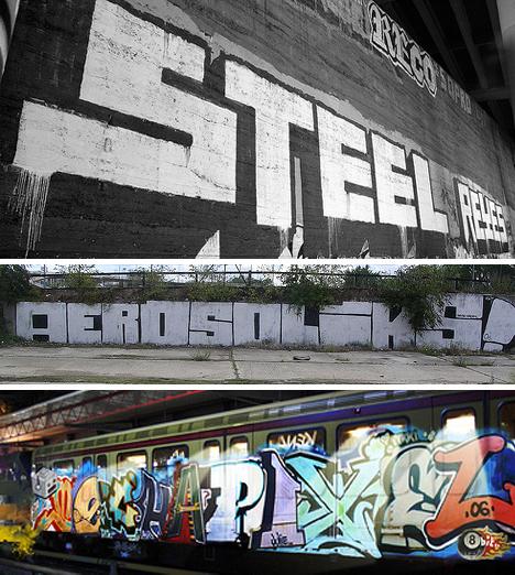 blockbuster graffiti