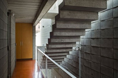 Suspended Staircases 18 Hanging Stair Tread Sets Urbanist | Floating Concrete Steps Designs | Exterior | Landscape | House | Sidewalk | Cement