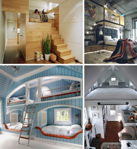 traditional to contemporary: 6 cool custom bedroom lofts | urbanist