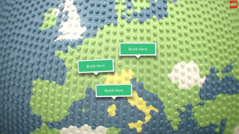 Virtual LEGO Blocks  Build with Chrome  Set on Google Maps   Urbanist build lego google maps