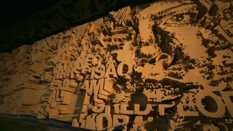 mural cut cork art