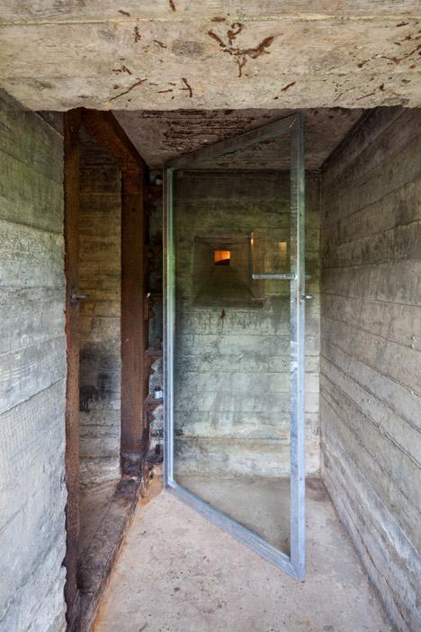 Concrete Retreat 100 Sq Ft Home In Wwii Dutch Defense