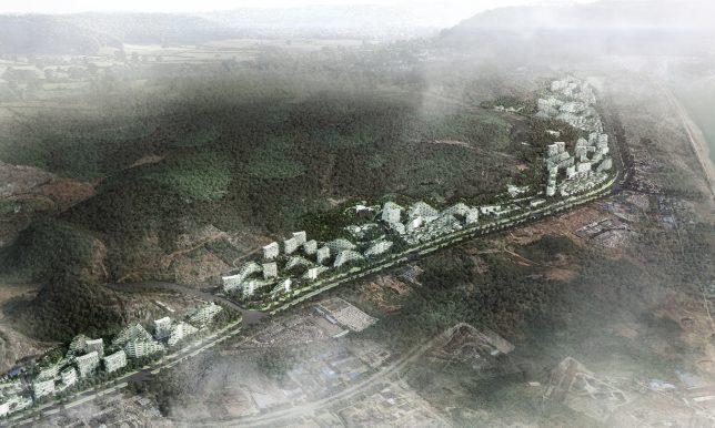 village de la ville de la forêt