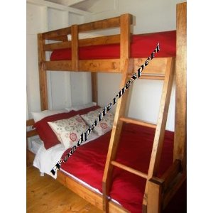 Queen Twin Bunk Beds