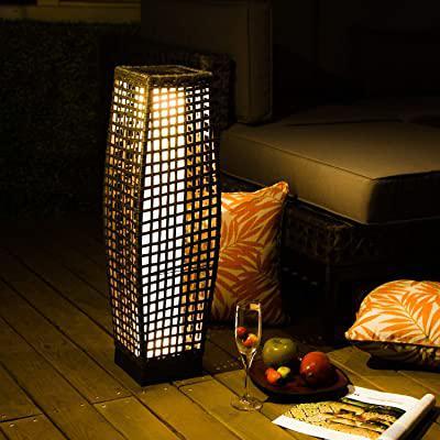bestseller wicker floor lamps rattan