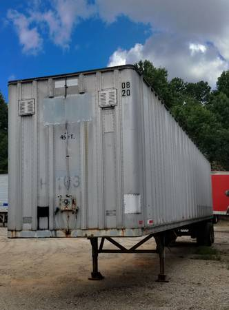 (5) 28′-45'x96 Storage Trailers – Tight & Dry – Fast Delivery (Atlanta-Lawrenceville) $1850