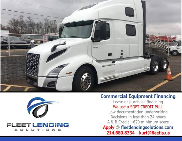 Truck, Trailer, AG & Construction Equipment Financing (Fayetteville)