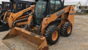 2012 Case 588G Field Fork Lift 8,000 Lb Brand New Foam Filled Rubber