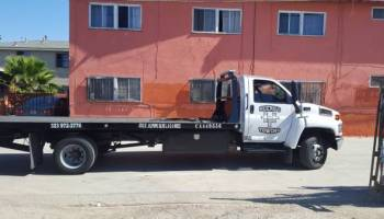 Cheap Tow Truck A&D Towing San Diego Affordable Flatbed Tow Service