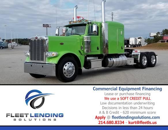 Truck, Trailer, AG & Construction Equipment Financing (Fargo)