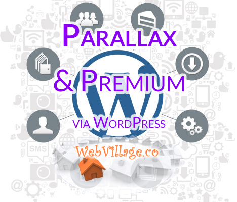 Parallax WordPress