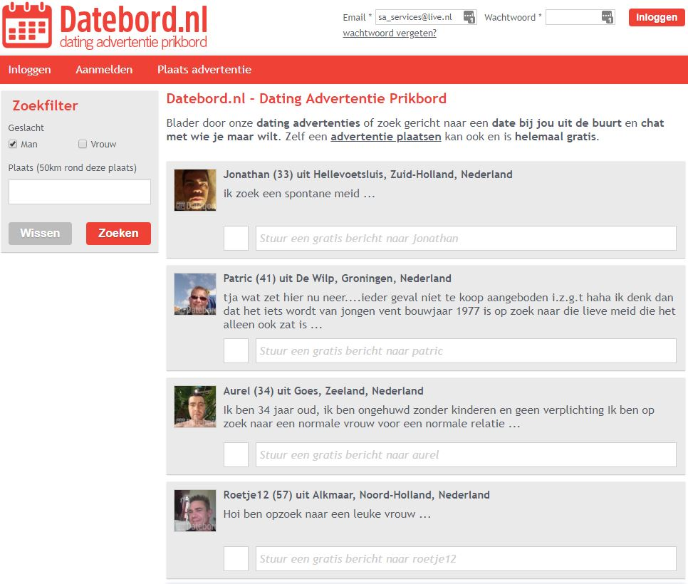 dating chat apps voor de iPhone