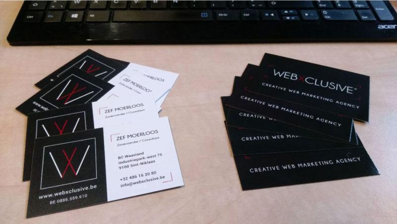 visitekaartjes-webxclusive