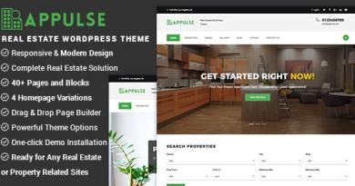 Appulse - Real Estate WordPress Theme 4