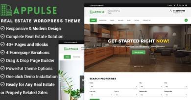 Appulse - Real Estate WordPress Theme 2