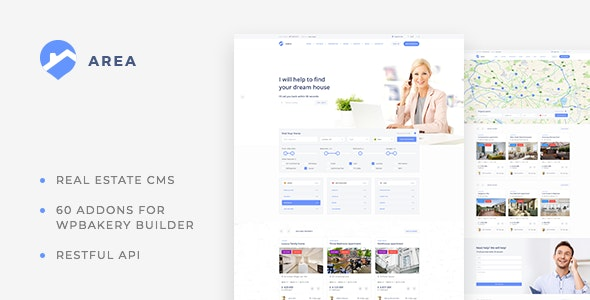 Area – Real Estate WordPress theme for Agencies and Realtors 19