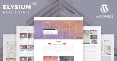 Elysium - Real Estate WordPress Theme 3