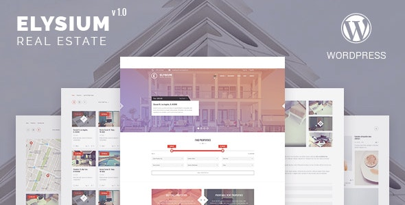 Elysium - Real Estate WordPress Theme 1