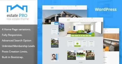 Estate Pro - Real Estate WordPress Theme 2