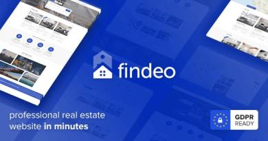 Findeo - Real Estate WordPress Theme 4