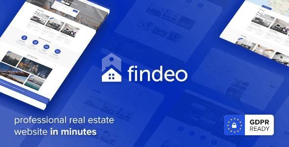 Findeo - Real Estate WordPress Theme 1