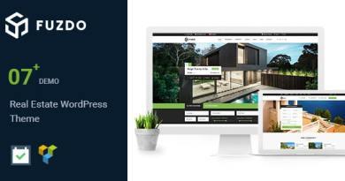 Fuzdo - Real Estate WordPress Theme 3