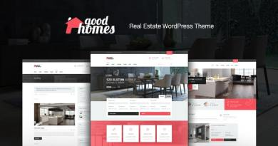 Good Homes | A Contemporary Real Estate WordPress Theme 2
