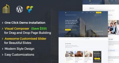 GrayHouse - Modern Construction WordPress Theme 4