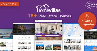 Home Villas | Real Estate WordPress Theme 3