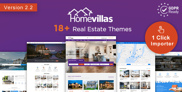 Home Villas | Real Estate WordPress Theme 1