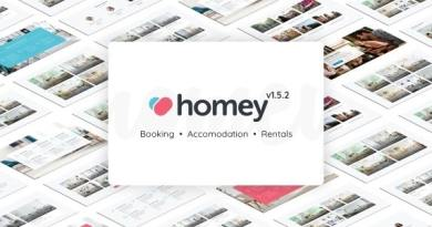 Homey - Booking and Rentals WordPress Theme 4