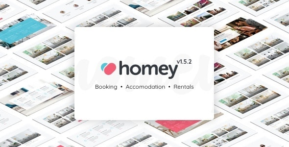 Homey - Booking and Rentals WordPress Theme 1