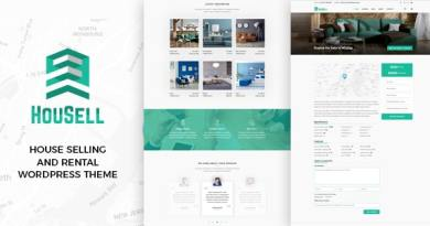 Housell - Modern Real Estate WordPress Theme 4