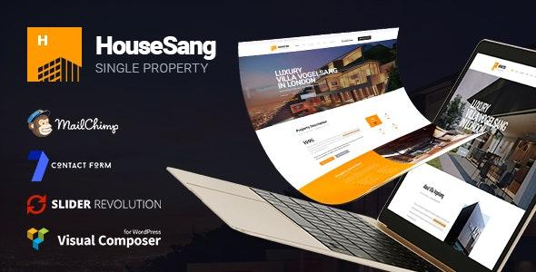 HouseSang | Single Property WordPress Theme 1