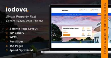 Iodova - Single Property Real Estate WordPress Theme 4